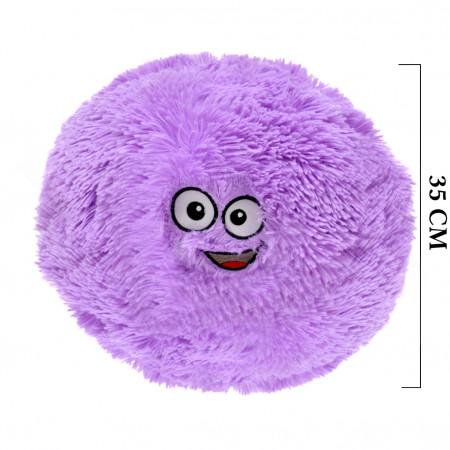 Flausy Puf Yastık 35 cm Lila