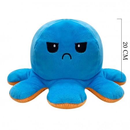 Duygulu Ahtapot 20 cm Mavi