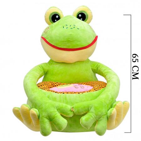 Kurbağa Minder Peluş Bebek Çocuk Koltuğu 3414