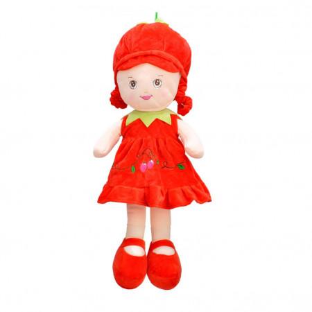 Peluş Bebek 47 cm Kırmızı 3429