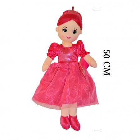 Peluş Bebek 50 cm Kırmızı 3426