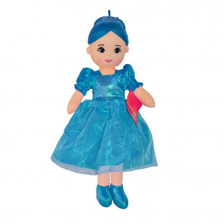 Peluş Bebek 50 cm Mavi 3426