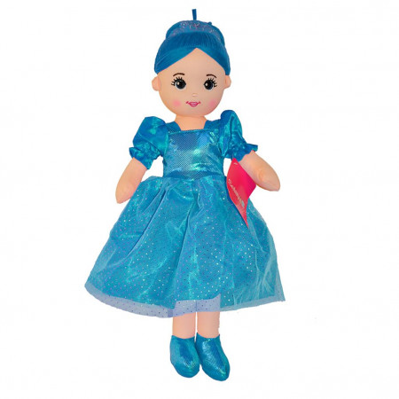Peluş Bebek 60 cm Mavi 3427