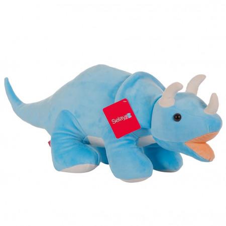 Triceratops 90 cm Mavi
