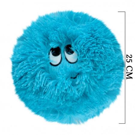 Flausy Puf Yastık 25 cm Mavi 1003