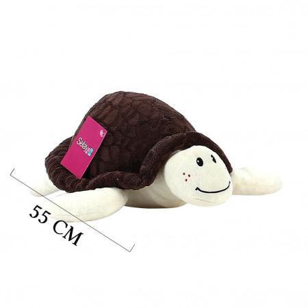 Peluş Kaplumbağa 55 cm Kahverengi 9008