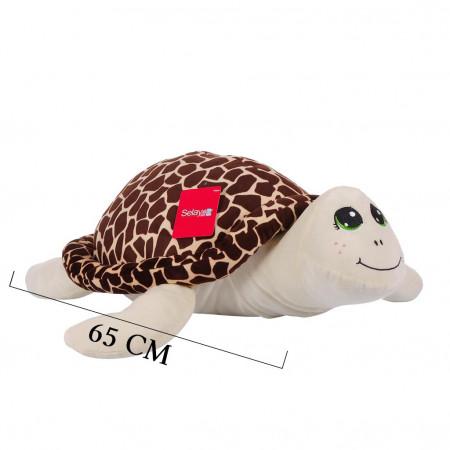 Peluş Kaplumbağa 65 cm Kahverengi 9001