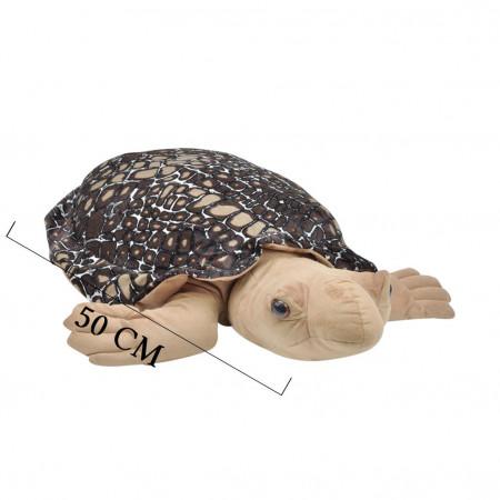 Peluş Kaplumbağa Caretta 50 cm Kahverengi 9005