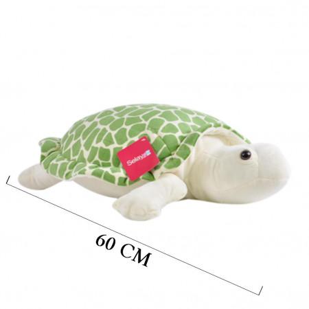 Peluş Kaplumbağa Caretta 60 cm Yeşil 9003