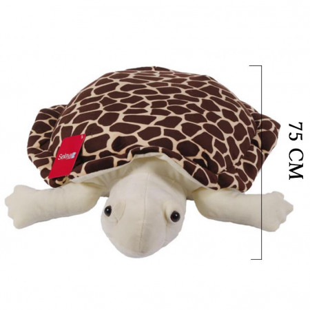 Peluş Kaplumbağa Caretta 75 cm Kahverengi 9004