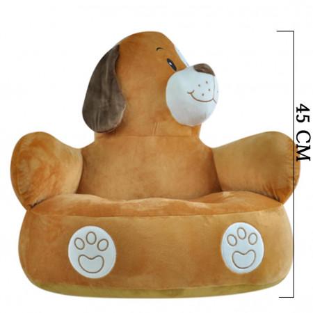 Köpek Minder Peluş Bebek Çocuk Koltuğu 4352