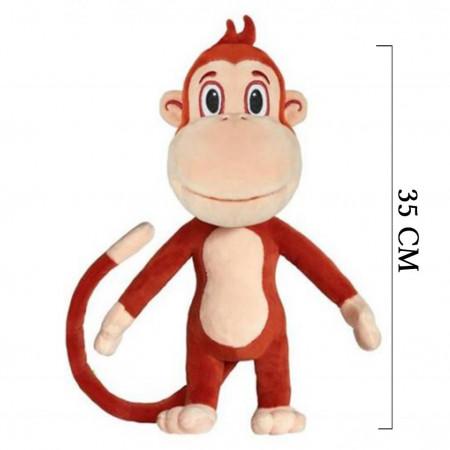 Kukuli Peluş Oyuncak Maymun 35 cm