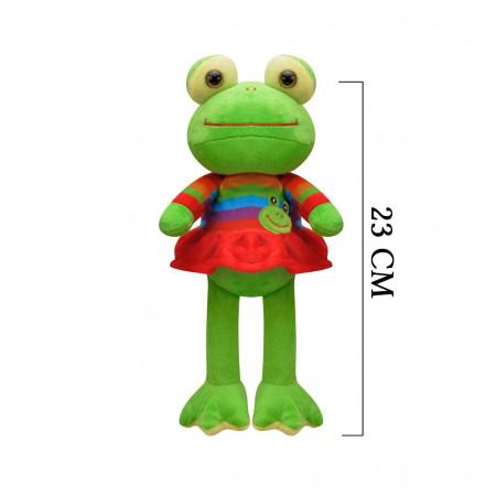 Peluş Kurbağa 23 cm 3386