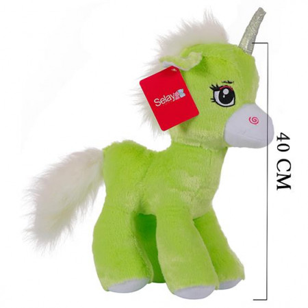 Süslü At 40 cm Yeşil