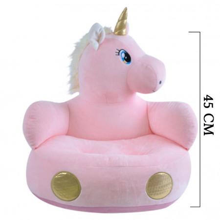 Unicorn Minder Peluş Bebek Çocuk Koltuğu 4354
